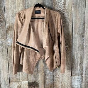 Lovestitch Faux Vegan Suede Leather Jacket